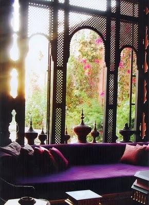 moroccan windows and sunroom lounge amna b